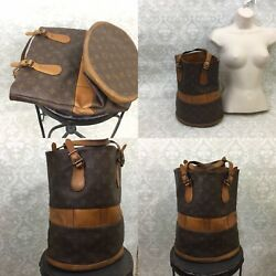 Authentic Louis Vuitton French Company Co. U.S.A. GM Bucket Bag