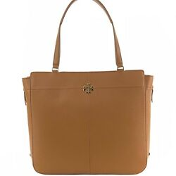 Ivy Side-zip Expandable Leather Tote