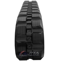 One Rubber Track For Ihi Cl45 450x86x56 Block Tread Pattern Free Shipping