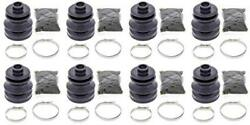 Complete Front And Rear Inner And Outer Cv Boot Repair Kit For Arctic Cat 500 Fis Tr