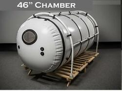 New Pet 7psi 46 inch Hyperbaric Oxygen Chamber Higher Pressure 1.5ATA