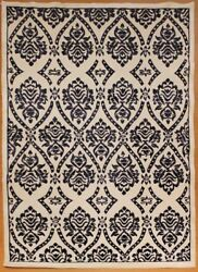 Contemporary Hand Knotted Wool And Silk Tibet Rug