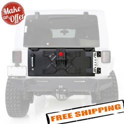 Smittybilt 76410 Xrc Tailgate With Tire Carrier For 2007-2018 Jeep Wrangler Jk