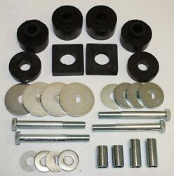 1961 1962 1963 1964 Ford Truck Cab Mount Kit 1/2 Ton 2wd Only With Hardware New