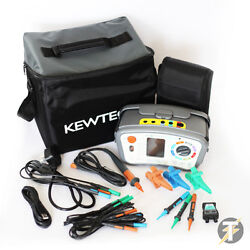 Kt65dl Digital 8-in-1 Multifunction Tester With Att Rcd/loop/insulation And More