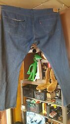 Vintage Leviand039s Strauss Display Store 501 Button Fly Jeans
