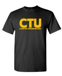 CTU - emergency novelty duty terrorism - Unisex Cotton T-Shirt Tee Shirt