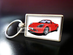 Toyota Mr2 Roadster Metal Key Ring. Choose Your Car Colour.