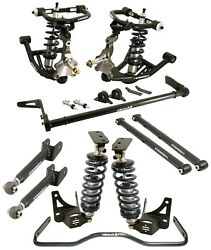 RIDETECH COILOVER SYSTEM,CONTROL & TRAILING ARMS,SPINDLES,SWAY BARS,68-72 A-BODY