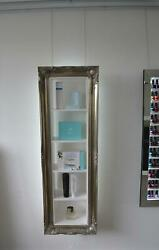 Beauty product display cabinet make up storage skincare hair products
