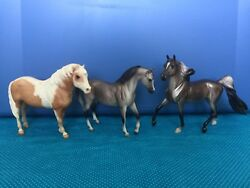 Three Breyer Classic Horses For Customization Play Or Display