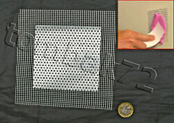 Plasterboard Drywall Hole Cover Repair Patch 4and039and039 Self Adhesive Metal Mesh Plate