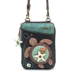 Chala Wallet Crossbody Cell Phone Purse-Women Faux Leather Multicolor...