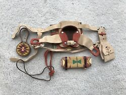 Breyer Horse Traditional Accessory #2452 Man-Made Western Saddle Set Camping
