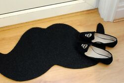 Moustache Gift Doormat|Dirt-Trapper Easy-Clean Jet-Washable|Non-Shedding Outdoor