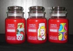 Yankee Candle - 2010 1st Annual Flagship Festival - Set Of 3 - 22 Oz - Very Rare