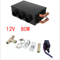 Universal Heating Vehicle Car Compact Heater Portable Defroster Demister 12v 80w