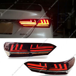 For Toayota Camry 2018-19 LED Tail Lights Brake o Turn signal Lamps Kit Assembly