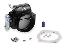 Holley Billet 90mm Ls Throttle Body W/ Low Rpm Taper 112-589 Cable Driven 4 Bolt