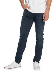 Mens Jeans 512 Slim Fit Taper Black Washed Headed South Stretch Worldwide