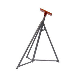 Set Of 5 Brownell Sail Boat Stands Galvanized Sb2 Size 48 Inches - 65 Inches
