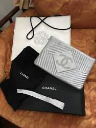 CHANEL Chanel Clutch Bag Ginza Limited Shiny Silver made inFrance Women's M03