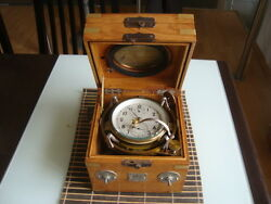 Russian Air Chronometer With Lever Escapement Kirova 2457