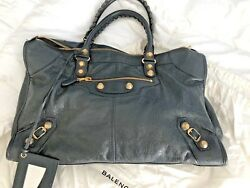 BALENCIAGA MOTORCYCLE BAG BRAND NEW DISTRESSED LEATHER $1,150.00