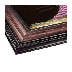 Wood Picture Frame   Americana Walnut 2.5   Made In The Us   Uv Protected