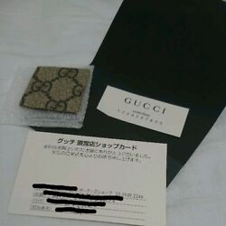 GUCCI Backpack Limited Japan Monogram Butterfly Rare Ladies Genuine M03