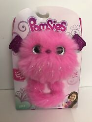 Pomsies Zoey The Dragon Interactive Wearable Pom Pom Pet Pink Plush Toy