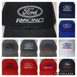 FORD RACING Embroidered Baseball Hat Cap Adjustable FORD Mustang F150 Fusion $13.95