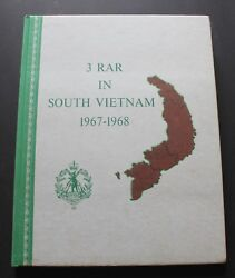 3 Rar In South Vietnam 1967-1968. A Record Of The Operational Service. 1968.