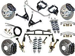 RIDETECH COILOVER & 4-LINK SYSTEM & WILWOOD DISC BRAKE KIT,11