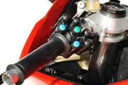 Ducati V4 Race Switch Set Left Side 7 Function Right Side 3 Function.
