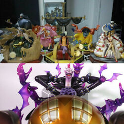 7pcs Seven Warlords of the Sea One piece Model Palace GK Resin Statue in stock