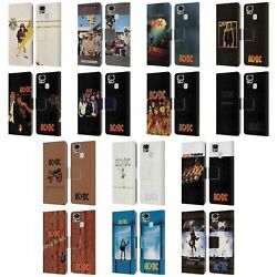 Official Ac/dc Acdc Album Cover Leather Book Wallet Case For Asus Zenfone Phones
