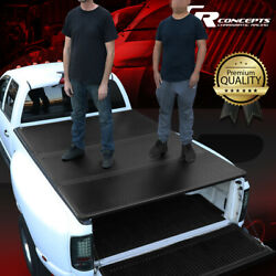 Hard Solid Tri-fold Tonneau Cover For 82-93 Chevy S10/gmc S15 6and039bed Pickup Truck