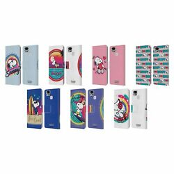 Peanuts Snoopy Boardwalk Airbrush Leather Book Case For Asus Zenfone Phones