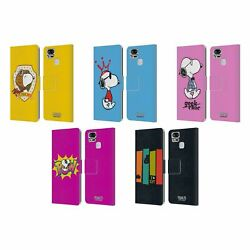Peanuts The Many Faces Of Snoopy Leather Book Case For Asus Zenfone Phones