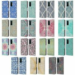 Official Micklyn Le Feuvre Floral Patterns Leather Book Case For Huawei Phones