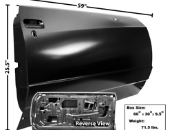 Chevychevrolet Monte Carlo Door Shell Passenger Side Right 1981-1985