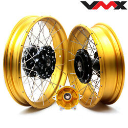 Vmx 3.019''/ 4.2517'' Tubeless Wheels Rims For Bmw F700gs 2012-2020 2014 2015