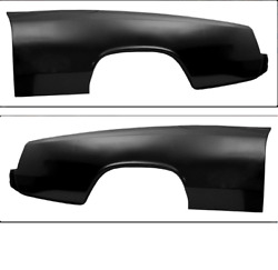 Chevychevrolet Chevelle Full Coupe Quarter Skin Set Left And Right 1966-1967