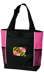 Maryland Tote Bag TRAVEL Totes Shopper POOL BAGS $23.99