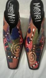 MICHELE K DESIGNER SHOES - 10M - MADE IN ITALY $25.00