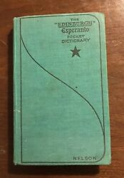 THE EDINBURGH ESPERANTO POCKET DICTIONARY 1960. THOMAS NELSON
