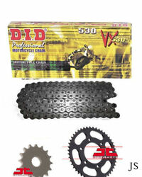Fits Honda Cbr900 Rr Y123 Fire Blade 2000-03 Did X-ring Chain And Sprocket Kit