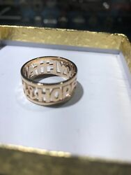 James Avery Gold Faith Love And Hope Ring