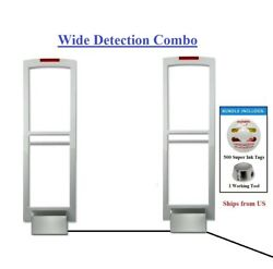 Wireless Wide Pkg - Eas Am Security Antenna System + Super Ink Tag + Tool